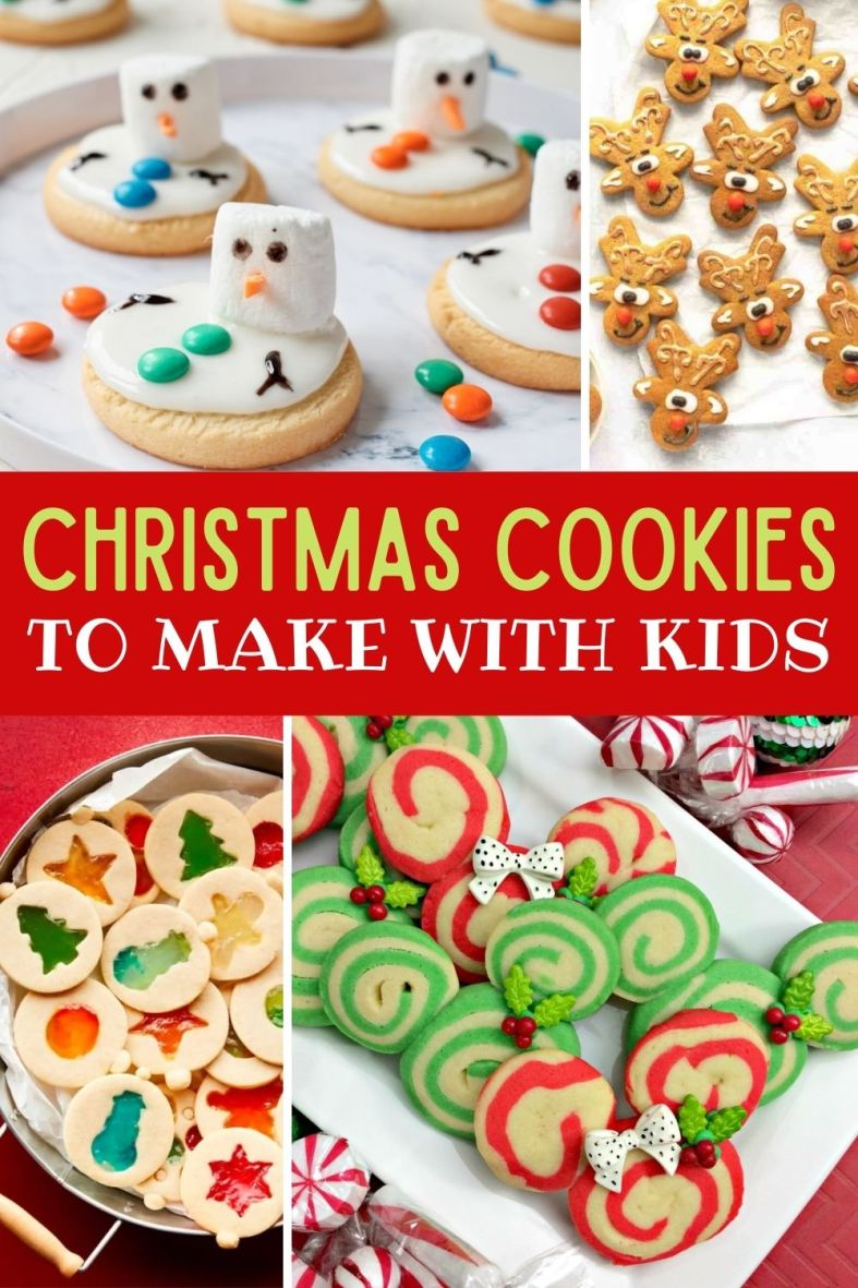 best Christmas cookies to make with kids