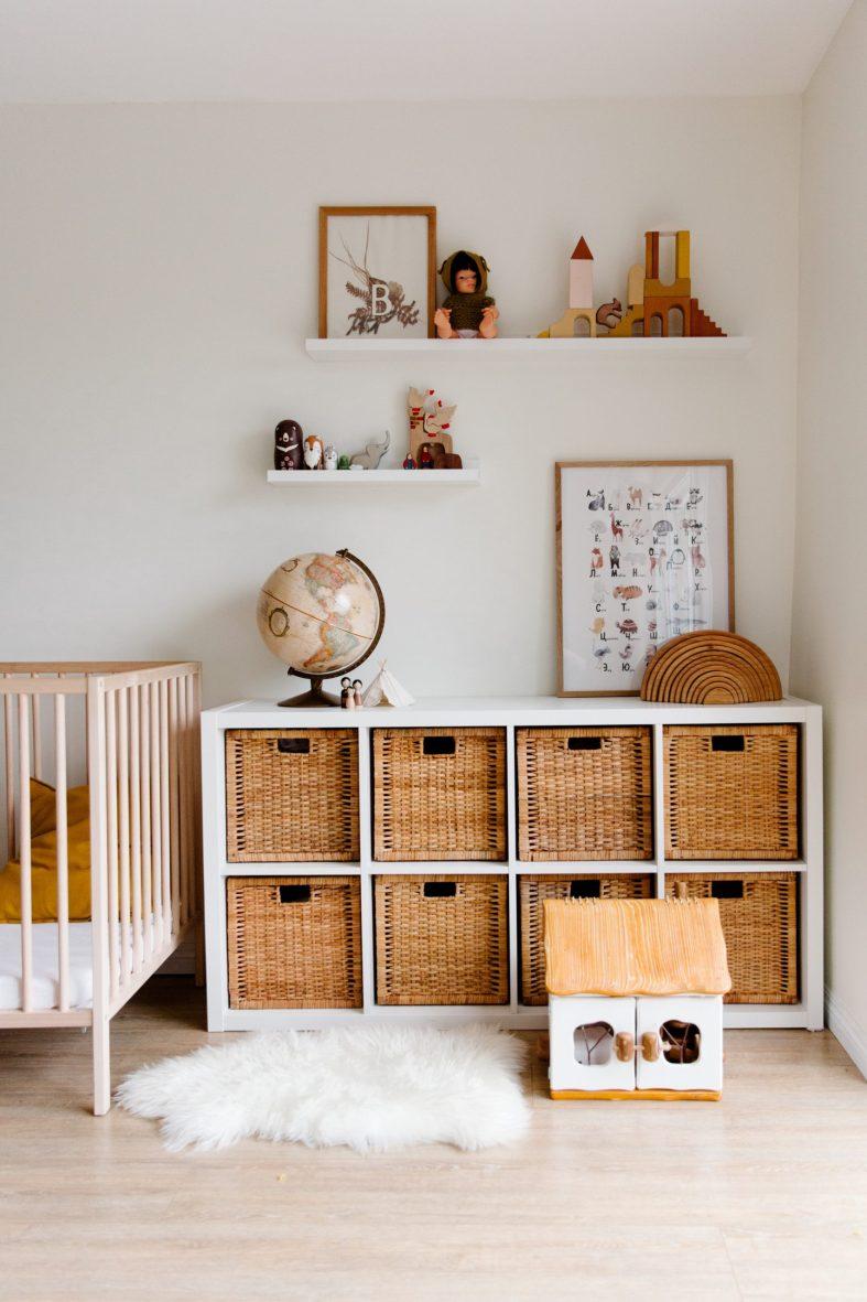 Toddler's bedroom decor ideas