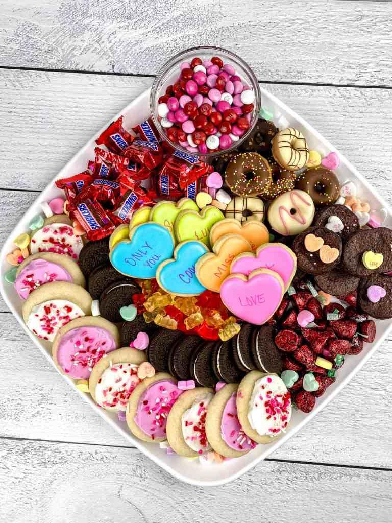 Valentines Dessert Board