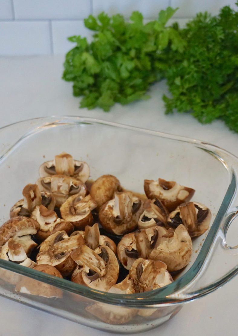 how to grill mushrooms