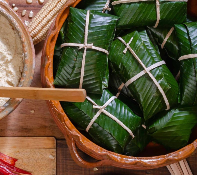 The best recipe for Guetemalan tamales