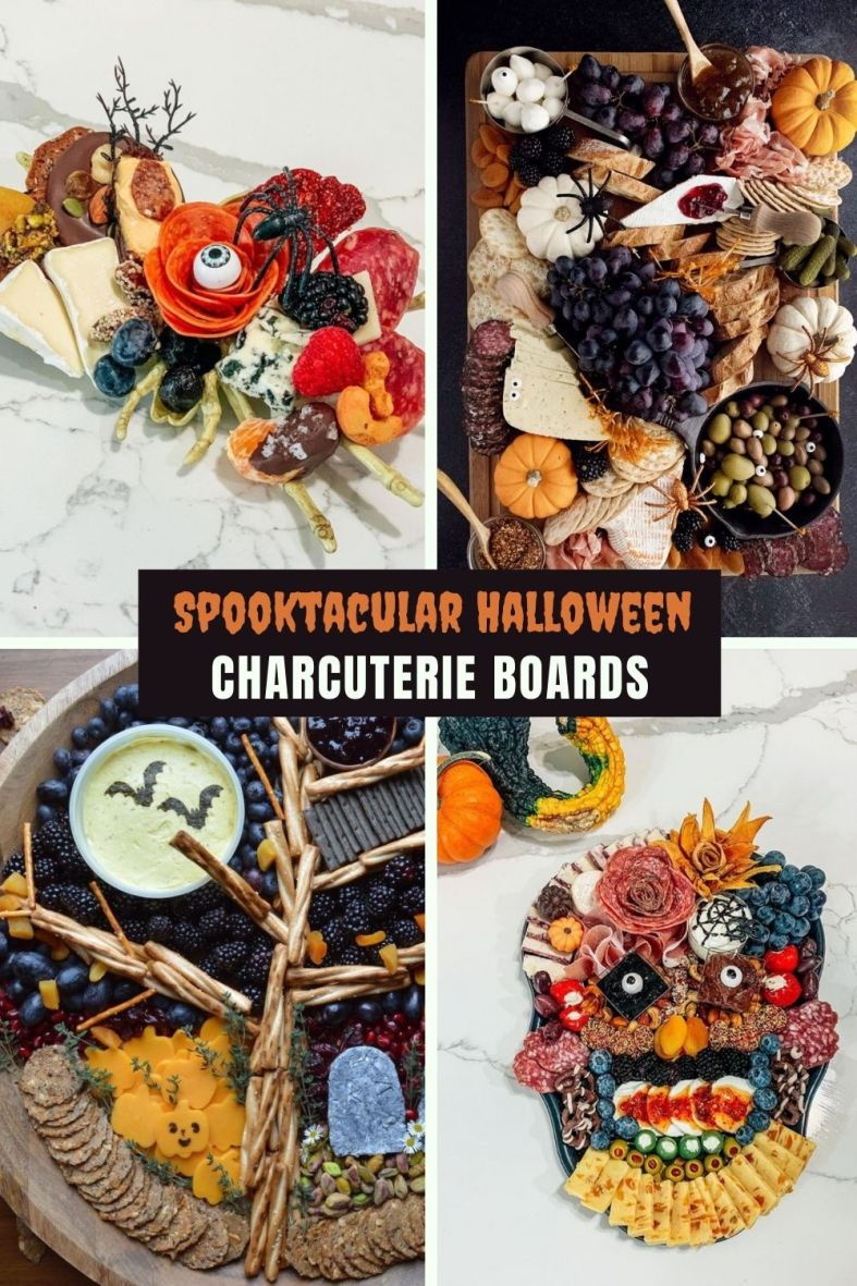 The best Halloween charcuterie boards
