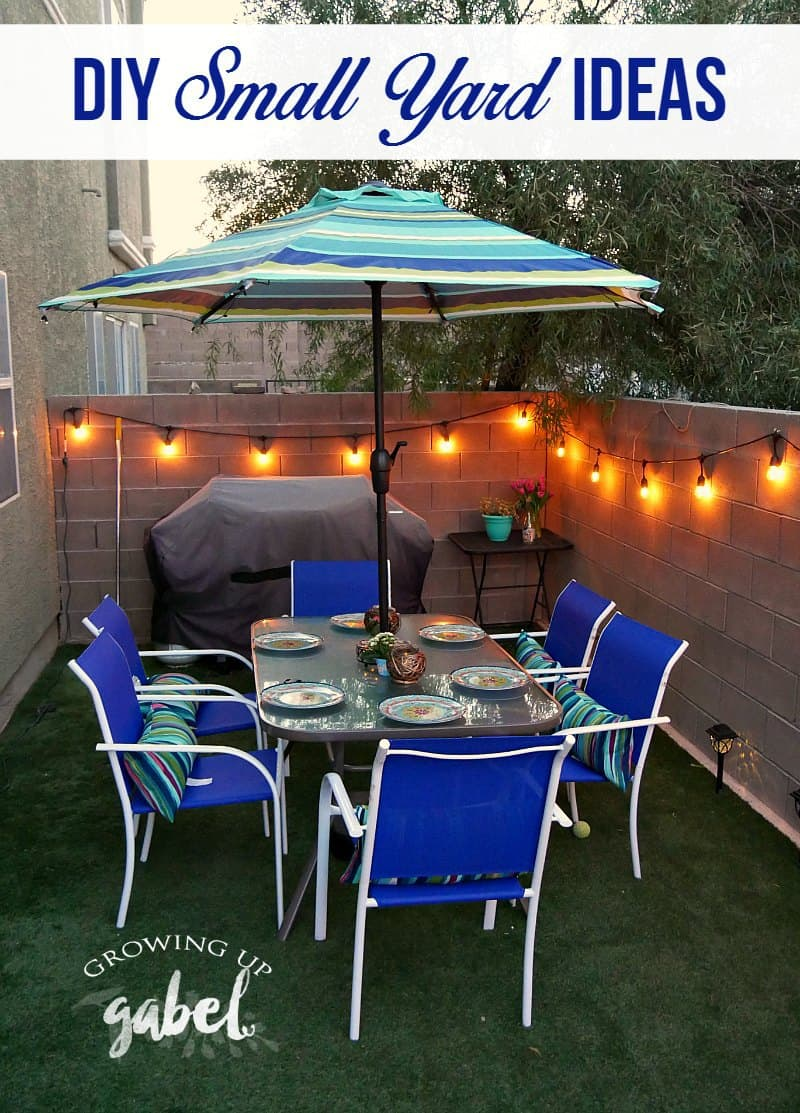 3 Small Backyard Ideas to Create an Outdoor Oasis on Small Backyard Patio Ideas On A Budget id=70051