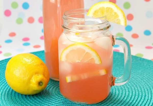 Easy Guava Pink Lemonade from Growing Up Gabel