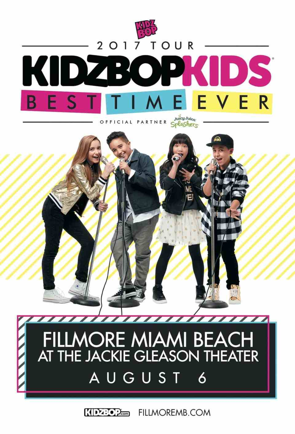 growing up glad, mom blog, mommy blog, fashion blog, parenting blog, girl power, inspiration, motivation, 2016, Kidz Bop Giveaway, Kids Concert, Family Friendly, Miami, Featured, Fillmore Miami Beach, Hosted Guest Post