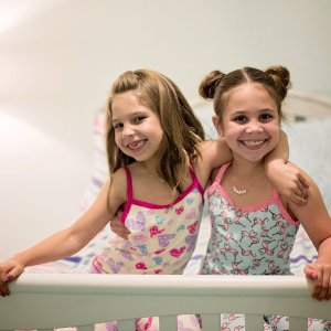 growing up glad, mom blog, mommy blog, fashion blog, parenting blog, girl power, inspiration, motivation, 2017, esme, pajamas, sisters, daughters, loungewear