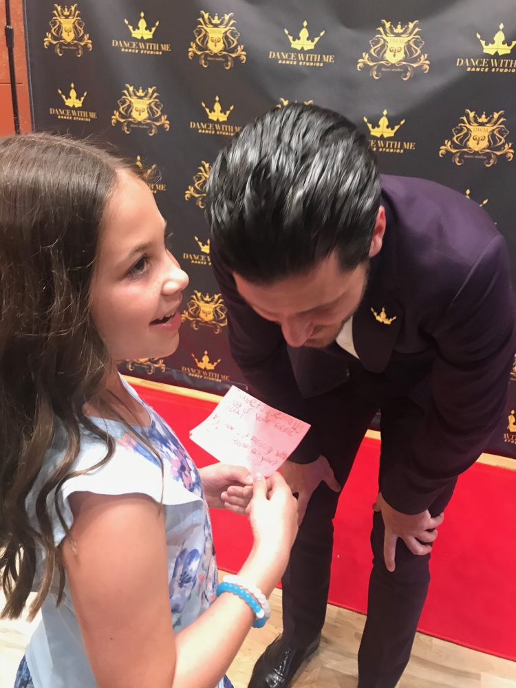 2018, ballroom dancing, Boca Raton, Dance With Me, Dancing With The Stars, Disney, DWMFAM, DWTS, Family Blog, growing up glad, inspiration, Maksim Chmerkovskiy, Mom Blogger, mommy blogger, Tony Dovolani, Town Center Mall, Valentin Chmerkovskiy