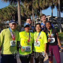 My first try running/walking a 5K