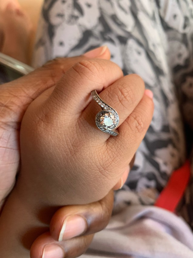 What's with the engagement ring? Growing With Spawn