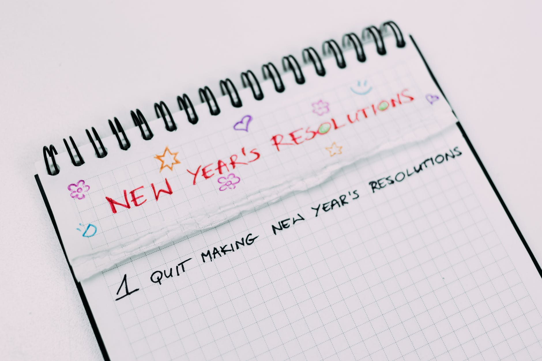 New Year's Resolutions - a secret you shouldn't share Growing With Spawn