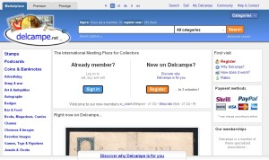 Alternatives to eBay- Delcampe