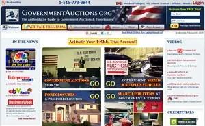 eBay alternatives: GovernmentAuctions.org
