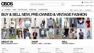 Alternatives to eBay- Asos