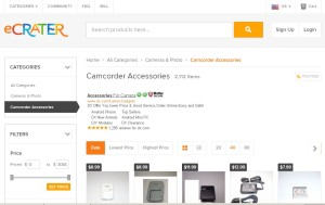 Alternatives to eBay- eCrater