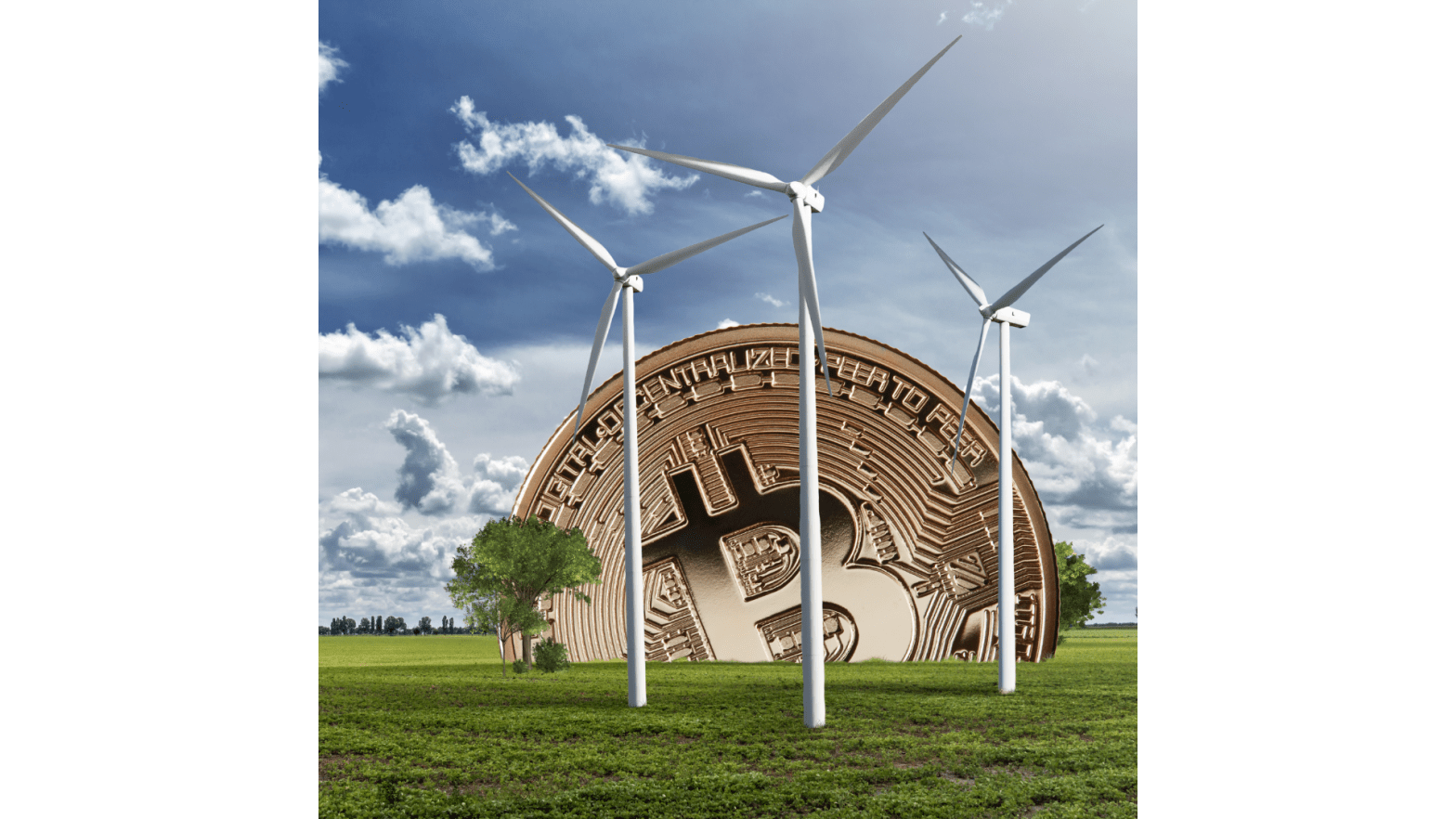 Bitcoin mining and the environment