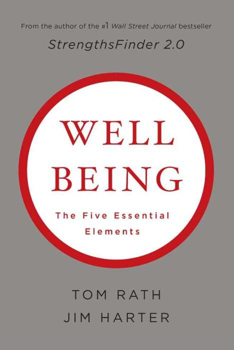 Image of the Wellbeing book by Tom Rath and Jim Harter