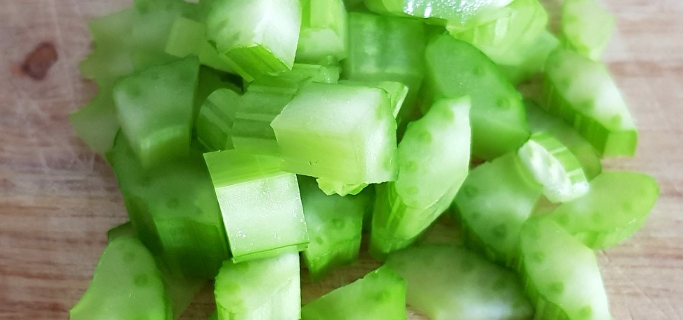 diced celery