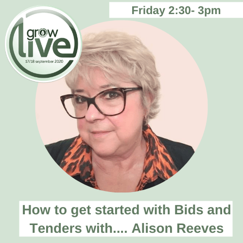 GROW Live 2020 with Alison Reeves