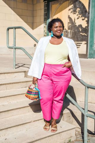 Summer Work Wear With Talbots