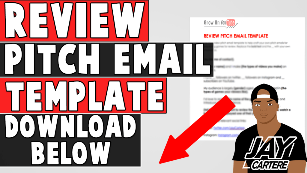 REVIEW PITCH EMAIL TEMPLATE