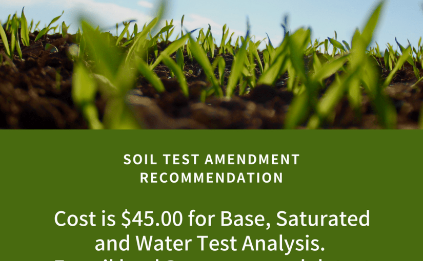 Soil Amendment Recommendation