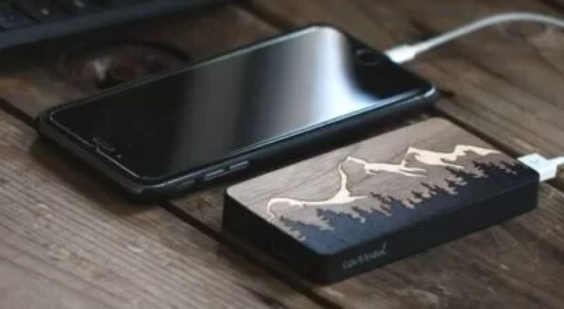 power bank wood header