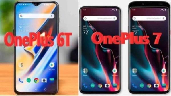 OnePlus 6T vs OnePlus 7