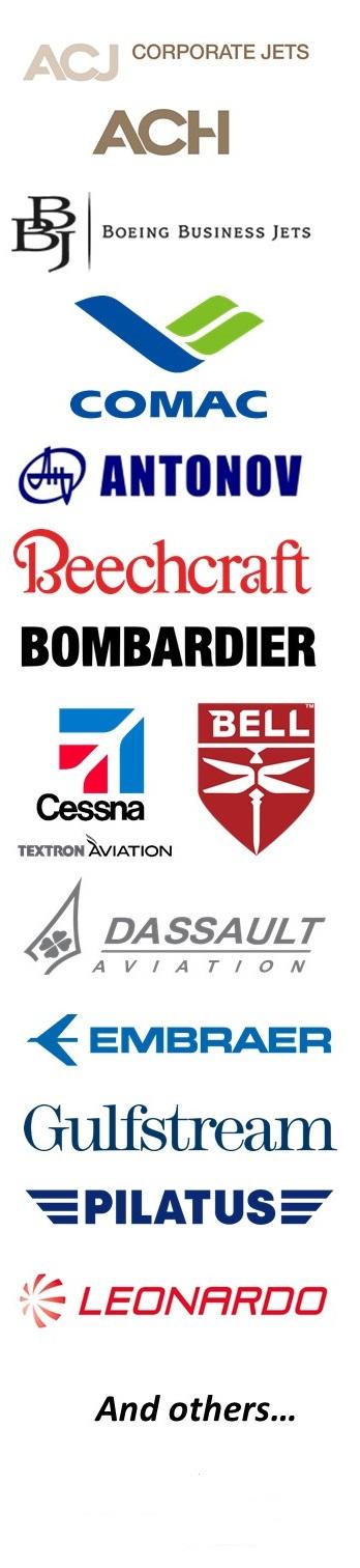 private jet brands