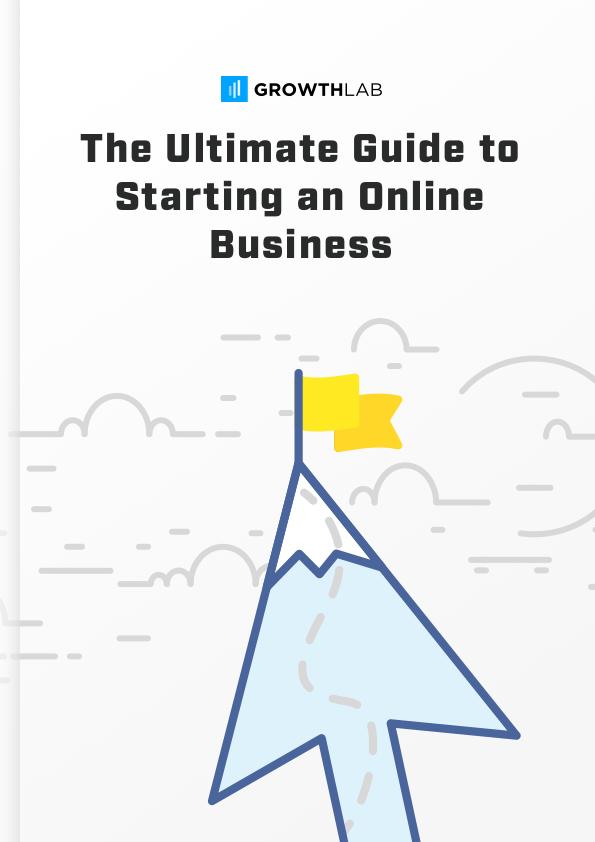 Scarica il PDF gratuito: la guida definitiva di GrowthLab per l'avvio di un'attività online