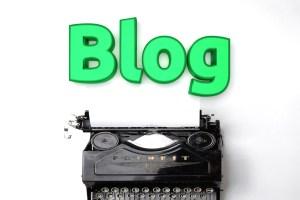 Growth Money Mindset Blog Image Typewriter
