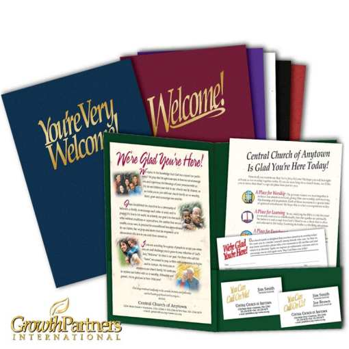 6x9 welcome folder package