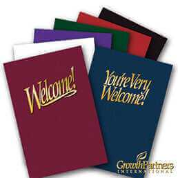 english welcome and you're very welcome folders