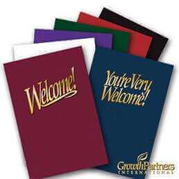 Welcome Folders