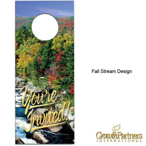 Fall stream door hanger design