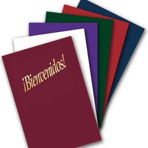 Spanish folder colors