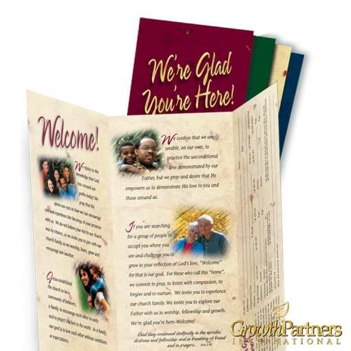 english welcome tri-fold