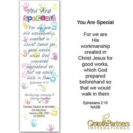 you are special bookmark