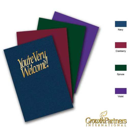 you're very welcome church folder colors