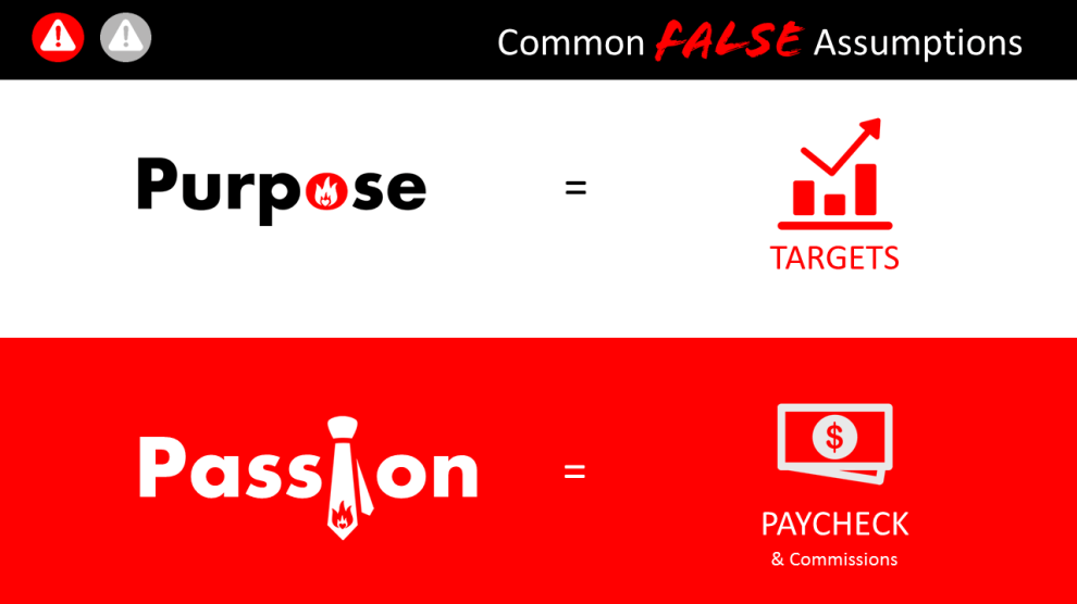 common false assumptions made by sales managers