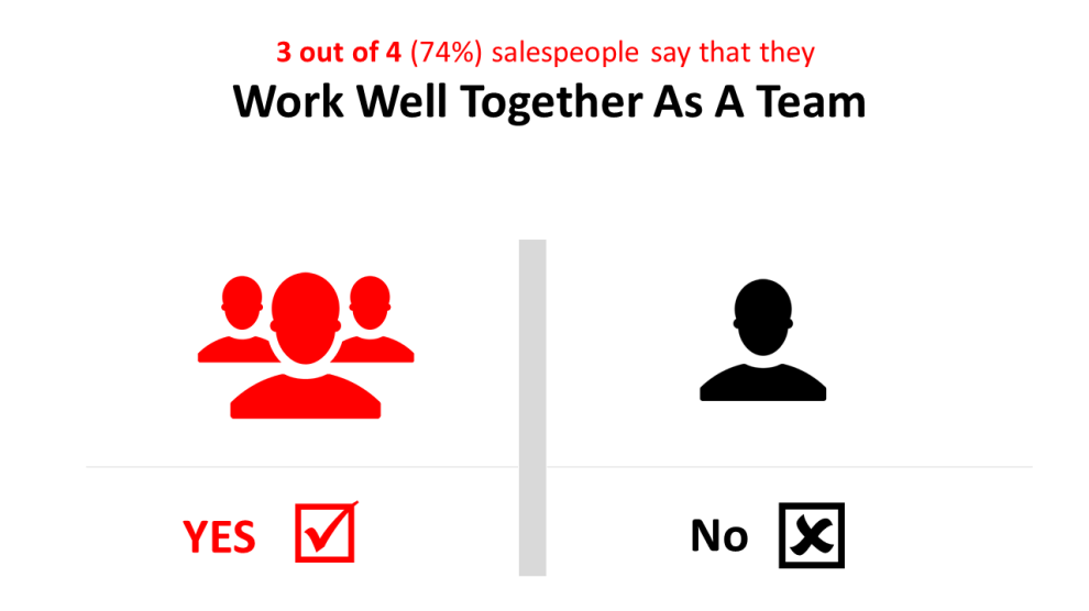 people say they work well together as a team