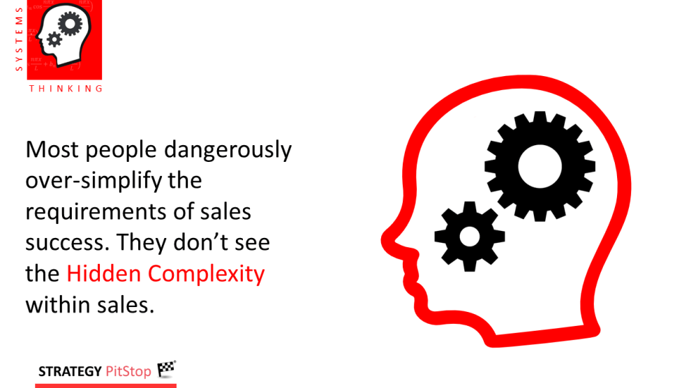 The danger of over simplifying sales growth
