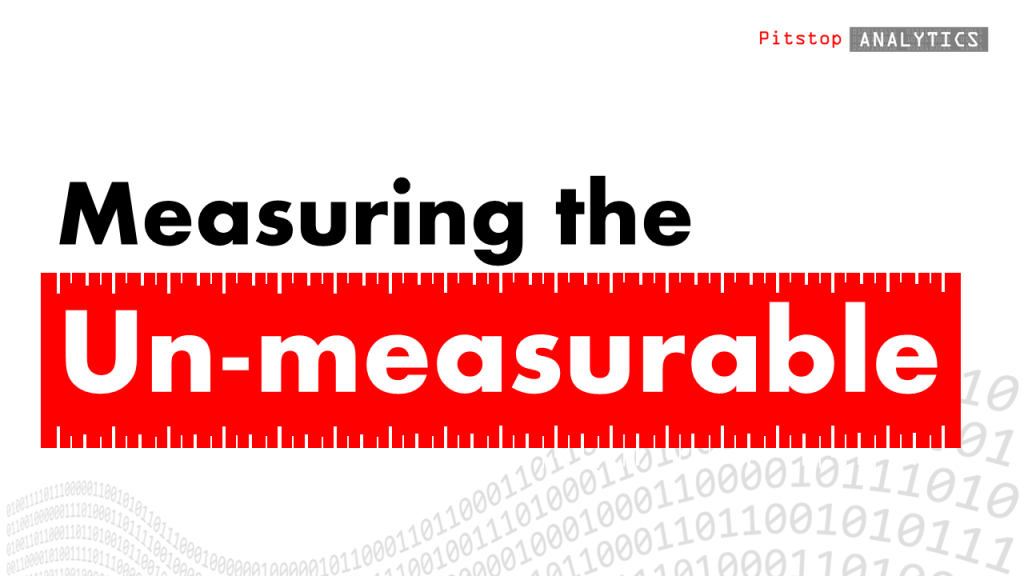 pitstop analytics measures what was previously un-measurable