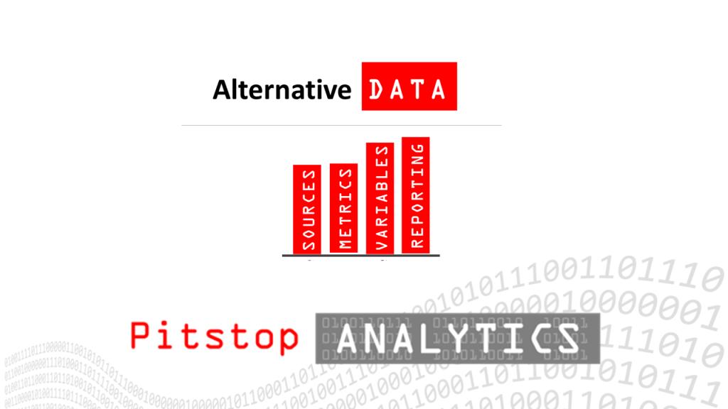 Alternative Data by Pitstop Analytics
