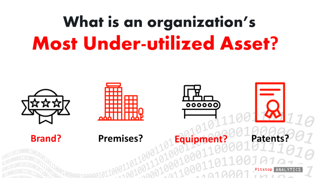 What is the most under-utilized asset in an organization?