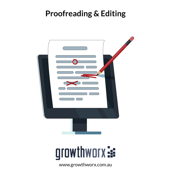 I will proofread, edit your work today 1