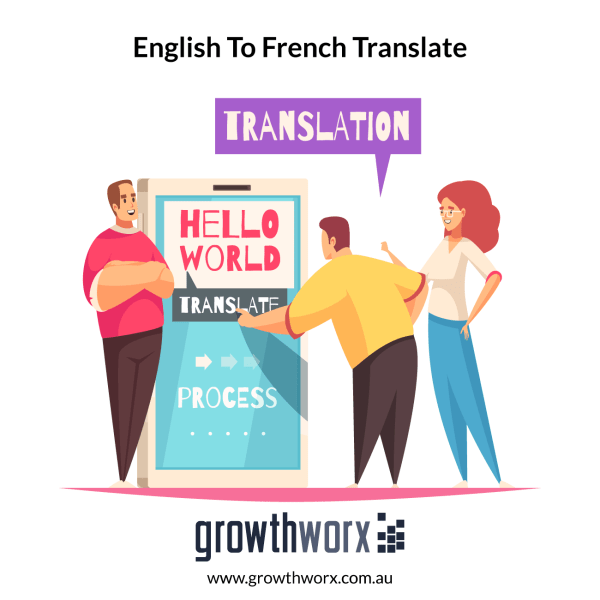 I will translate from english to french business ready translation 1