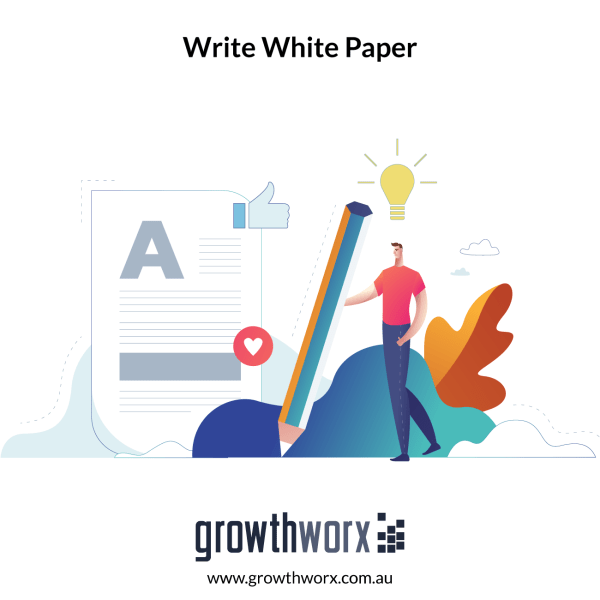 I will write a white paper for you 1