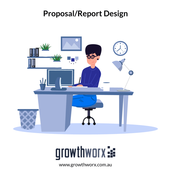 We will design your annual report or business proposal 1