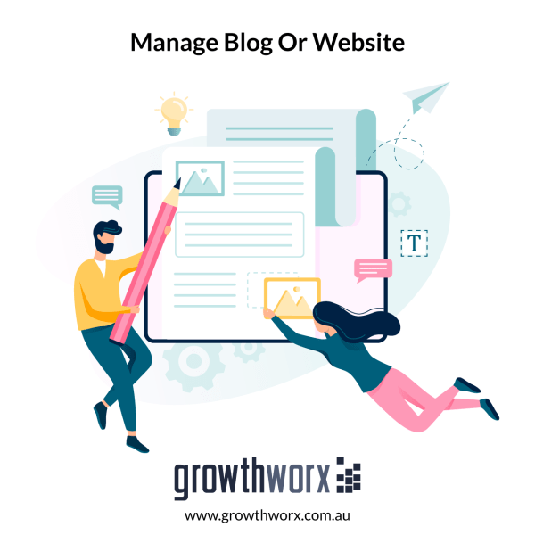 Manage your blog or website for 30 days and create and post 30 articles in 30 days 1