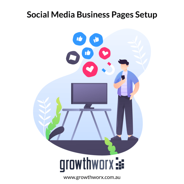 Set up and optimize 7 social media business pages: including add business details, design cover image, CTA and interlinking the pages + custom URL 1